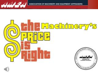 Machinery's