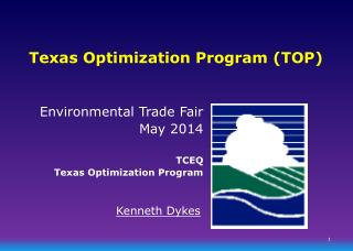 Texas Optimization Program (TOP)
