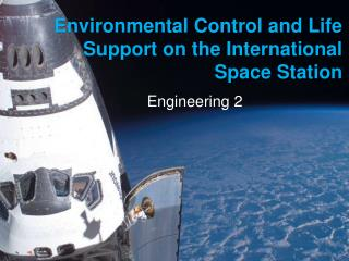 Environmental Control and Life Support on the International Space Station