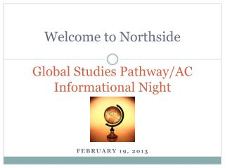 Global Studies Pathway/AC Informational Night