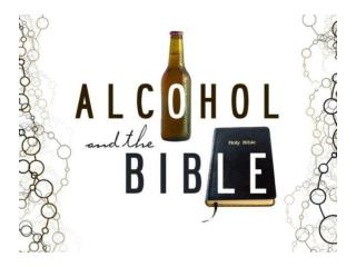 Ephesians 5: 18 Do not get drunk on wine, which leads to