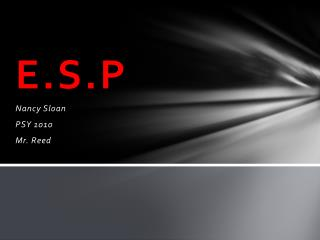 E.S.P