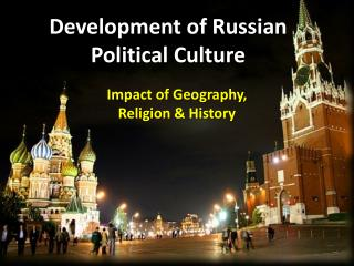 Development of Russian Political Culture