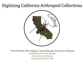 Digitizing California Arthropod Collections