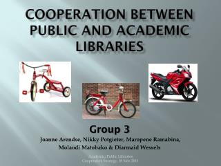 Cooperation between public and academic  libraries