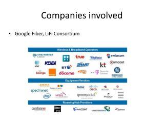 Companies involved