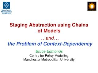 Staging Abstraction using Chains of Models