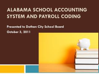 Alabama School Accounting System and Payroll Coding