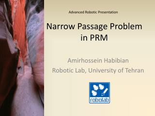 Narrow Passage Problem in PRM