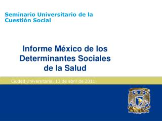 Seminario Universitario de la Cuestión Social