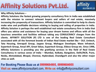 Noida Supertech New apartment !!! AffinityConsultant.Com !!!