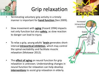 Grip relaxation