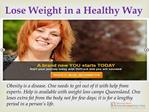 OnTrack Weight Loss Program