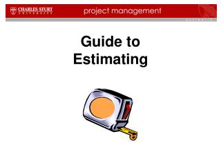 Guide to Estimating