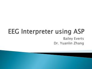 EEG Interpreter using ASP