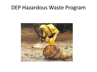 DEP Hazardous Waste Program