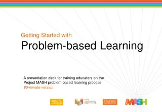 Getting Started with Problem-based Learning