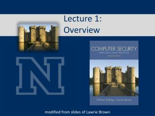 Lecture  1:  Overview