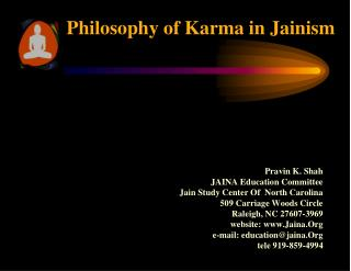Philosophy of Karma in Jainism