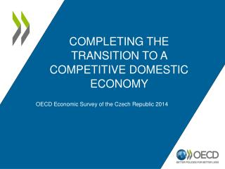 Completing the transition to a competitive domestic economy