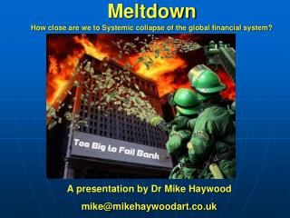 A presentation by Dr Mike Haywood mike@mikehaywoodart.co.uk