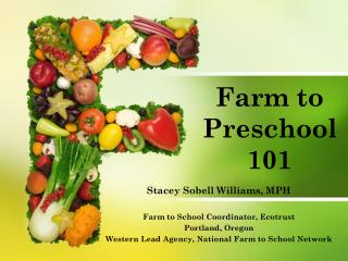 Farm to Preschool 101