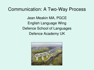 Communicating Effectively with Non-Native English Speakers