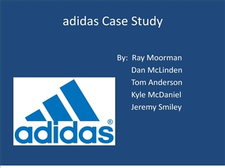 What enabled Adidas to be the Market Leader in the past
