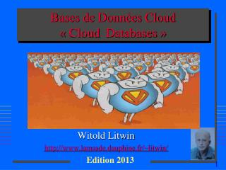 Bases de Données Cloud « Cloud   Databases  »