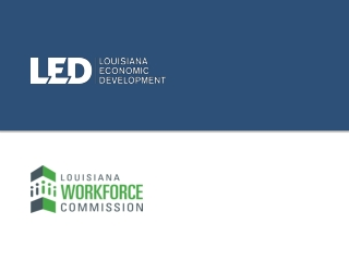 PowerPoint Presentation - Louisiana Economic  Community ...