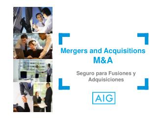 Mergers and Acquisitions M&A Seguro para Fusiones y Adquisiciones