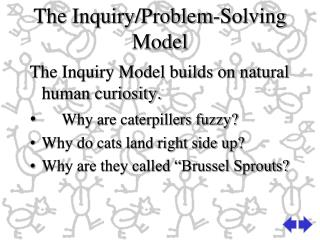 The Inquiry/Problem-Solving  Model