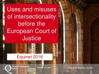 Uses and misuses of intersectionality before the European Court of Justice
