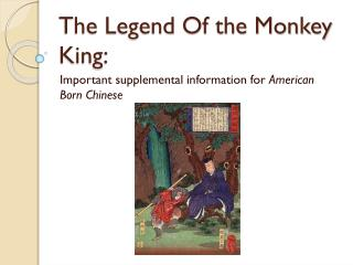 The Legend Of the Monkey King: