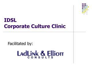 IDSL Corporate Culture Clinic