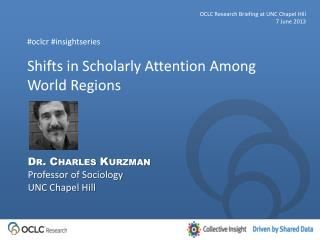Shifts in Scholarly Attention Among World Regions