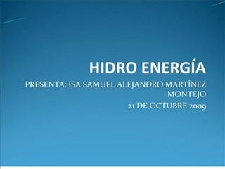HIDRO ENERG