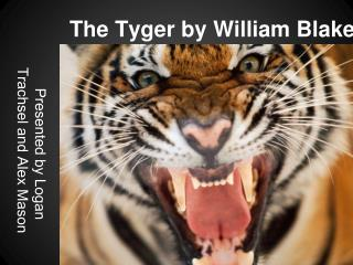 The Tyger by William Blake