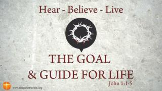 Jesus is the  Goal of Life