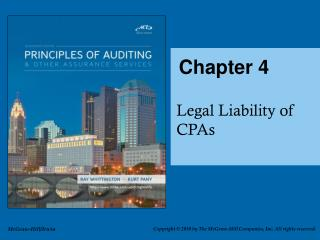 Scope of CPA Liability