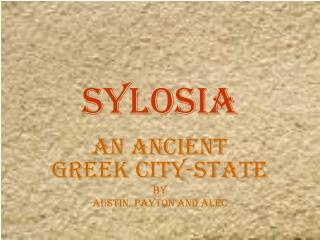 Sylosia
