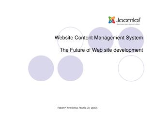 Website Content Management System The Future of Web site development