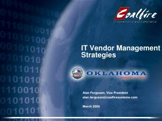 IT Vendor Management  Strategies