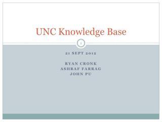 UNC Knowledge Base