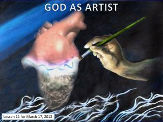 GOD AS ARTIST