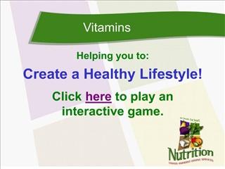 Vitamins - UMass Dining