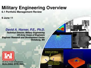 Military Engineering Overview 6.1 Portfolio Management Review 9 June 11