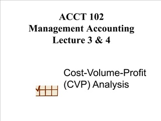 ACCT 102 Management Accounting Lecture 3  4