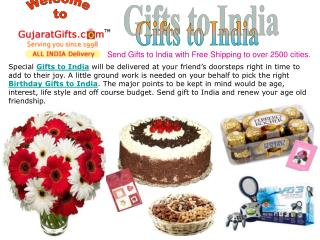 Gifts to India, Sending Gifts Online, Send Gifts to India