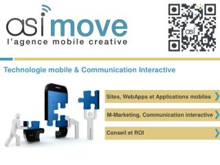 Sites, WebApps et Applications mobiles